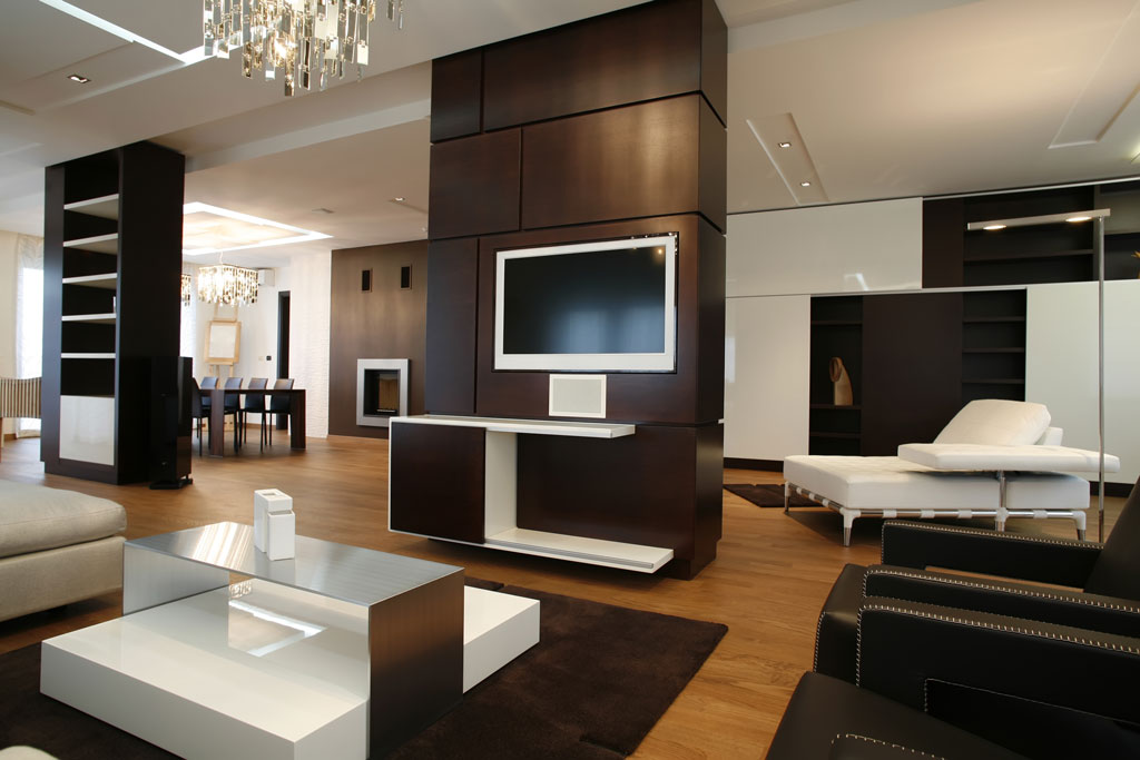 tv wand raumteiler selber bauen. Black Bedroom Furniture Sets. Home Design Ideas