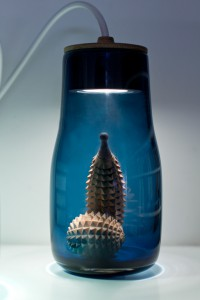 Light Jar in Blau.
