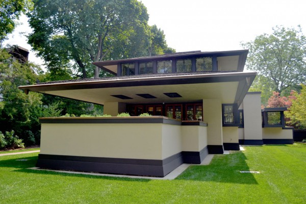 Organische architektur frank lloyd wright for Frank lloyd wright list of houses